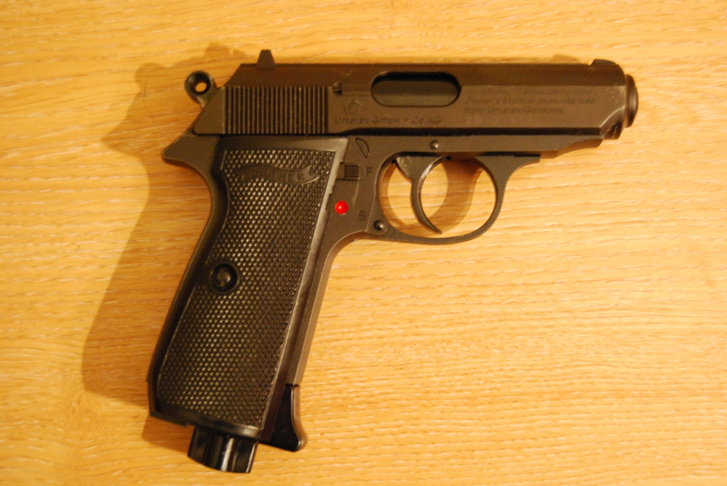 Umarex, Walther PPK,  177, Used - Very Good Condition, Air